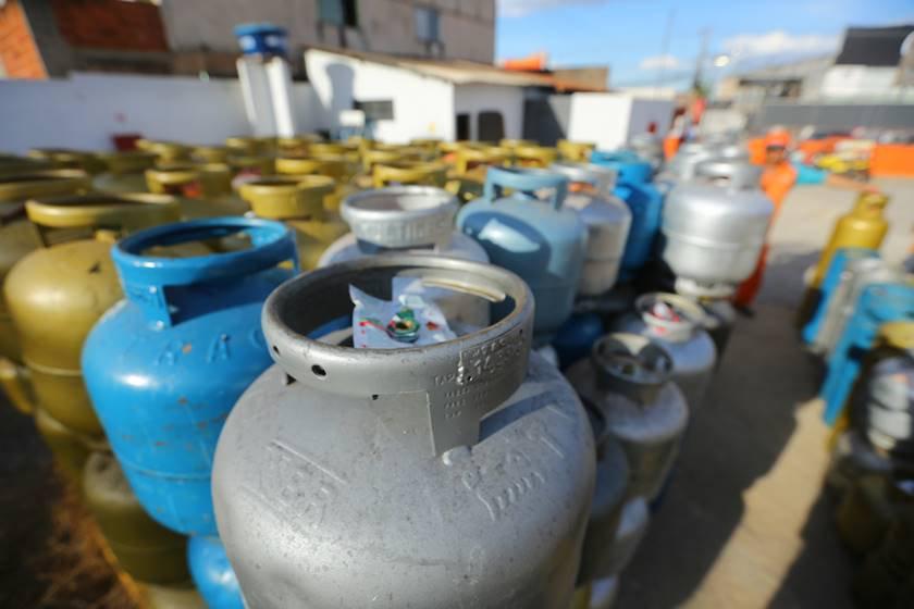 Botijão de gás