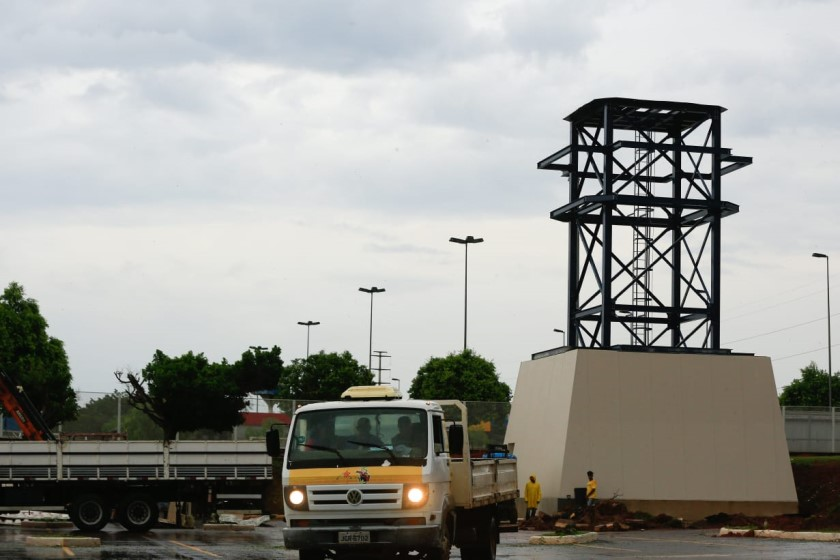 Construção da Havan em Brasília