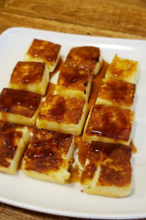 Petisco queijo coalho