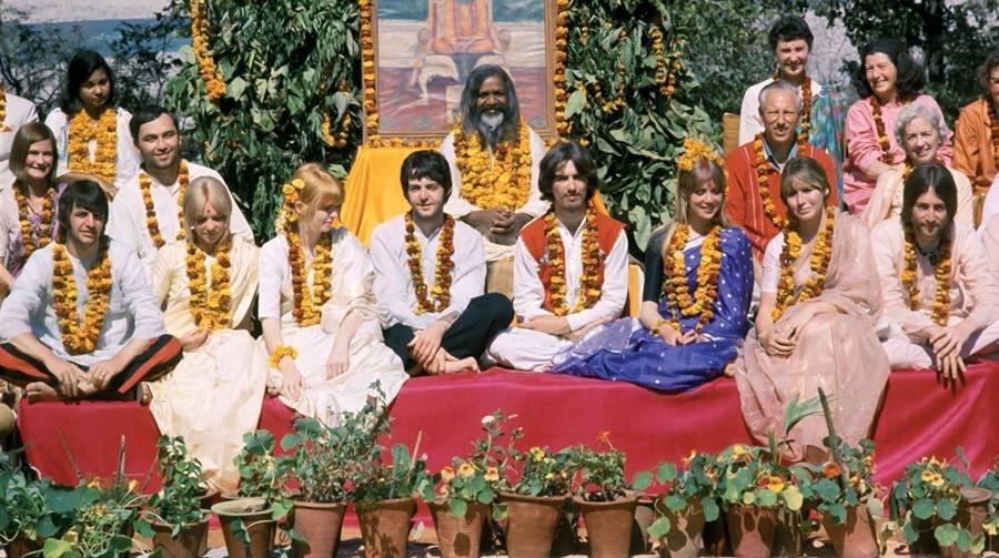 Beatles na Índia em 1968