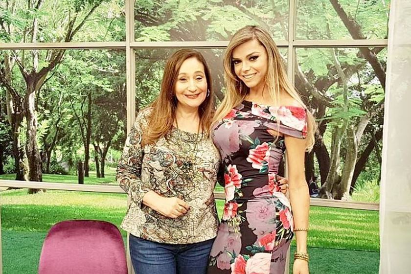 Leo Áquilla e Sônia Abrão