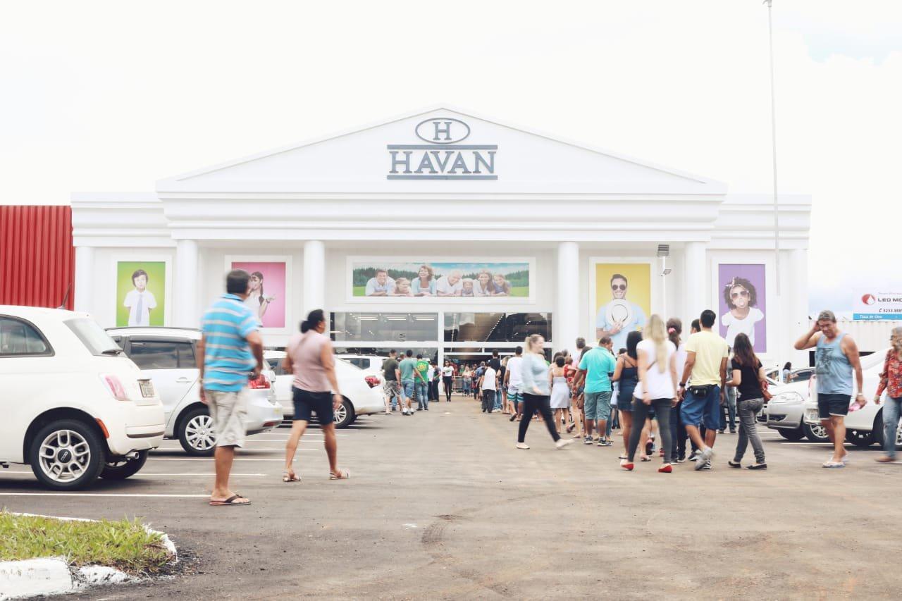Inauguração da Havan