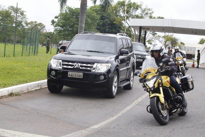 Comboio do presidente eleito, Jair Bolsonaro