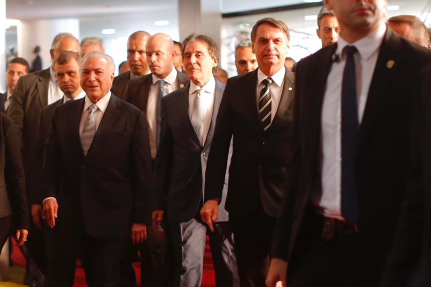 Bolsonaro chega ao Congresso Nacional