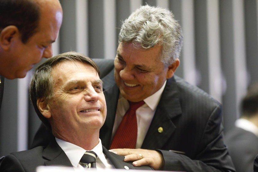 Jair Bolsonaro em sessão solene no Congresso