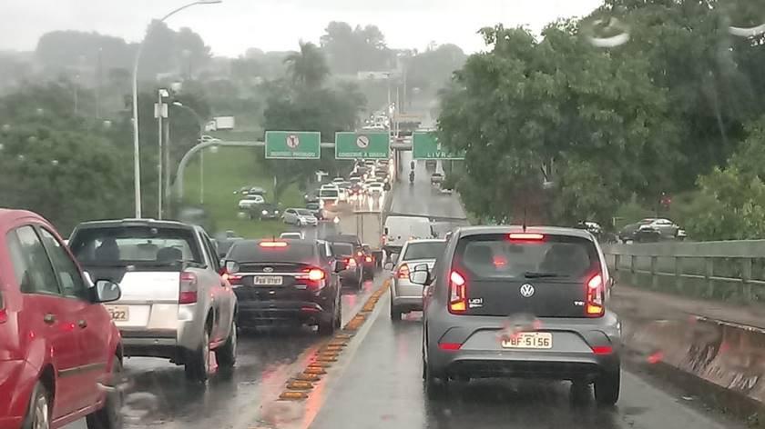 Transito Ponte Honestino