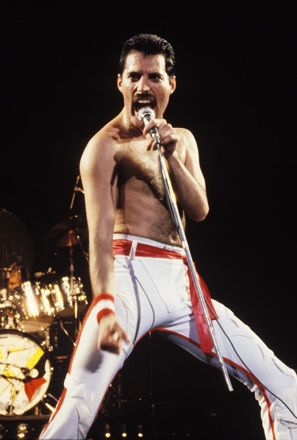 Queen File Photos from Northern California Freddie Mercury