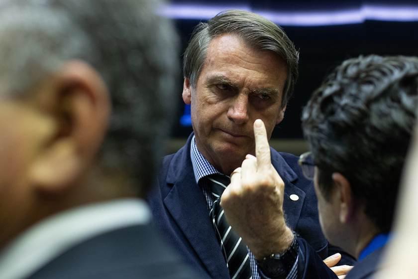 Jair Bolsonaro na Câmara dos Deputados. Brasília(DF), 04/09/2018