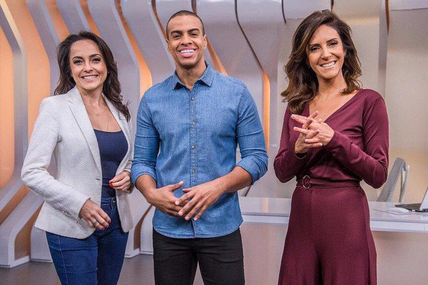 Izabella Camargo, Thiago Oliveira e Monalisa Perrone