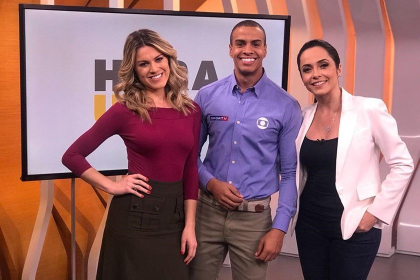 Izabella Camargo, Thiago Oliveira e Jacqueline Brazil