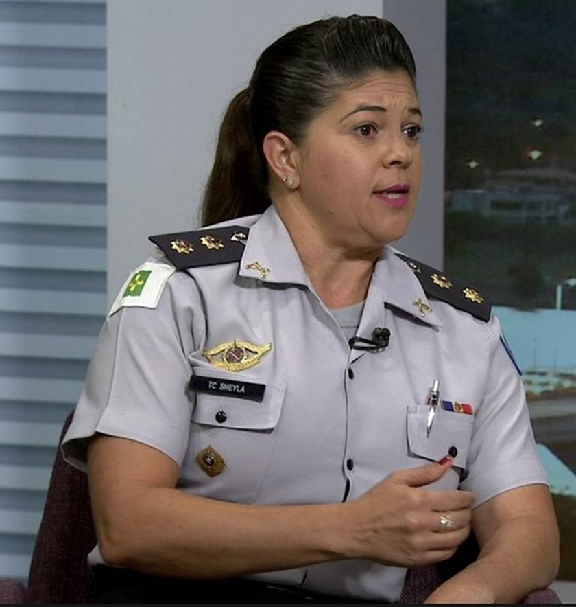 coronel Sheyla Sampaio
