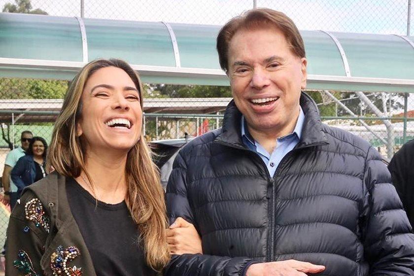 Patricia Abravanel e Silvio Santos