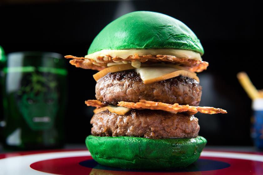 Hulk_Dólar Furado Burger_Foto de Thiago Bueno (3)