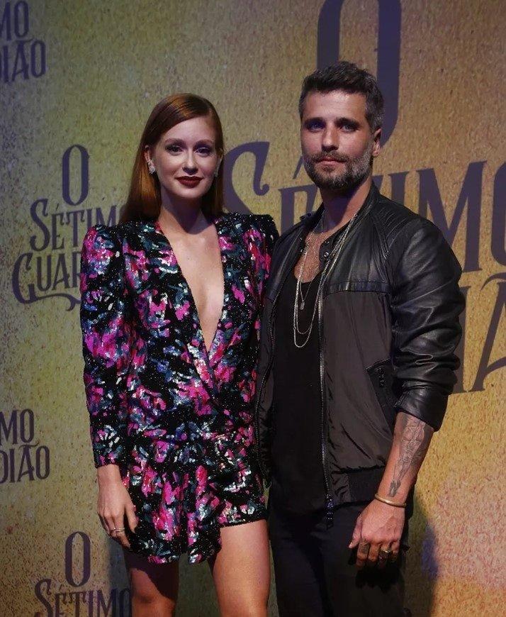 Marina Ruy Barbosa e Bruno Gagliasso
