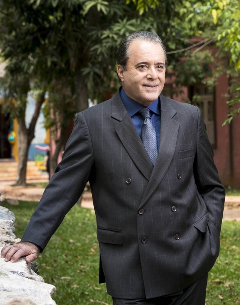 O Sétimo Guardião - Olavo (Tony Ramos) - João Miguel Júnior TV Globo