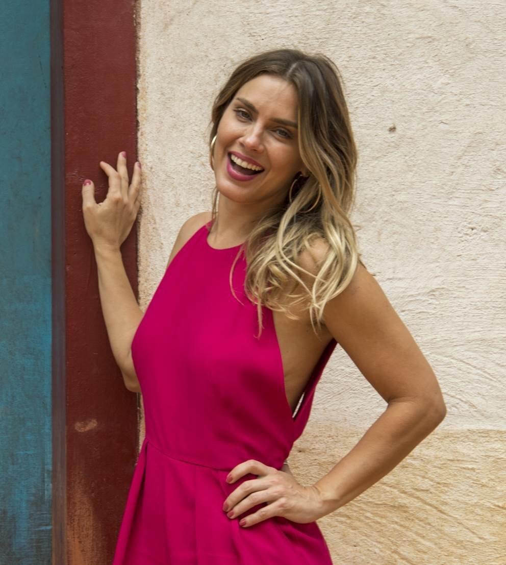 O Sétimo Guardião - Afrodite (Carolina Dieckmann) - Estevam Avellar TV Globo