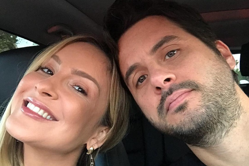 Claudia Leitte e marido