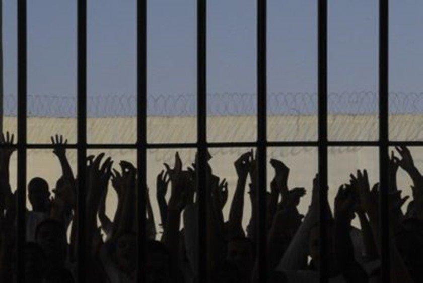 Presos no sistema penitenciário brasileiro