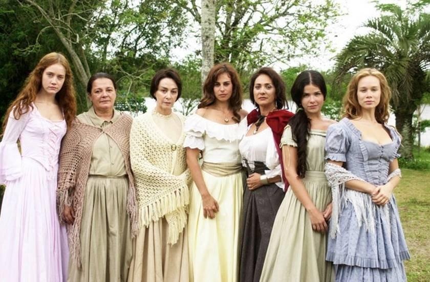 Resultado de imagem para a casa das sete mulheres