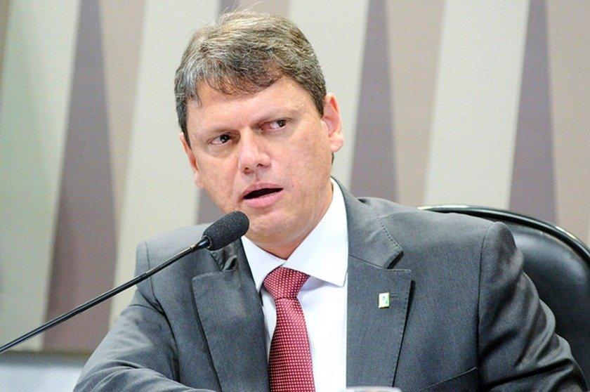 Tarcísio Gomes de Freitas, ministro da Infraestrutura no governo do presidente Jair Bolsonaro