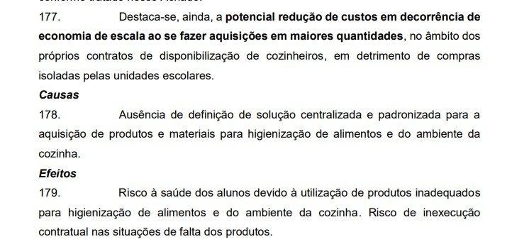 Reprodução/Relatório TCDF