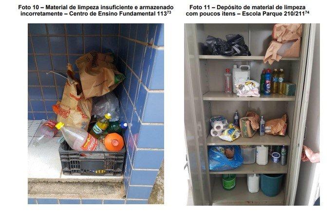 limpeza escolas