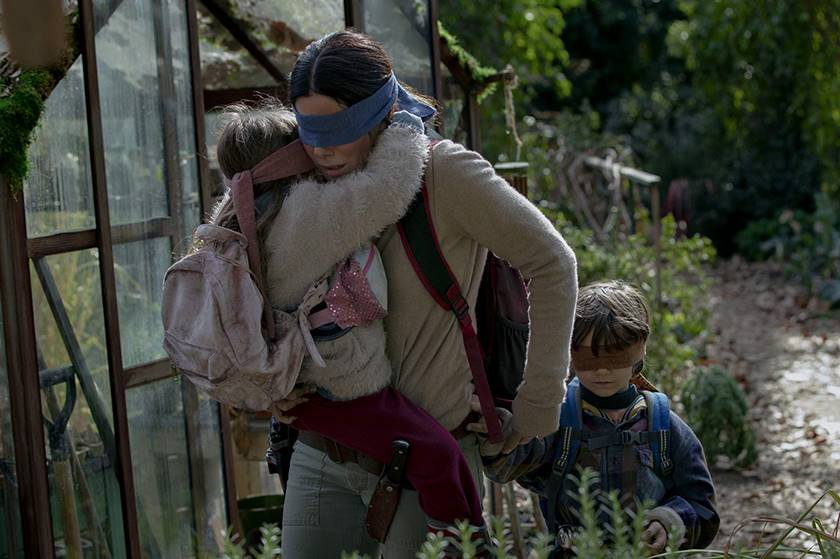 sandra bullock bird box