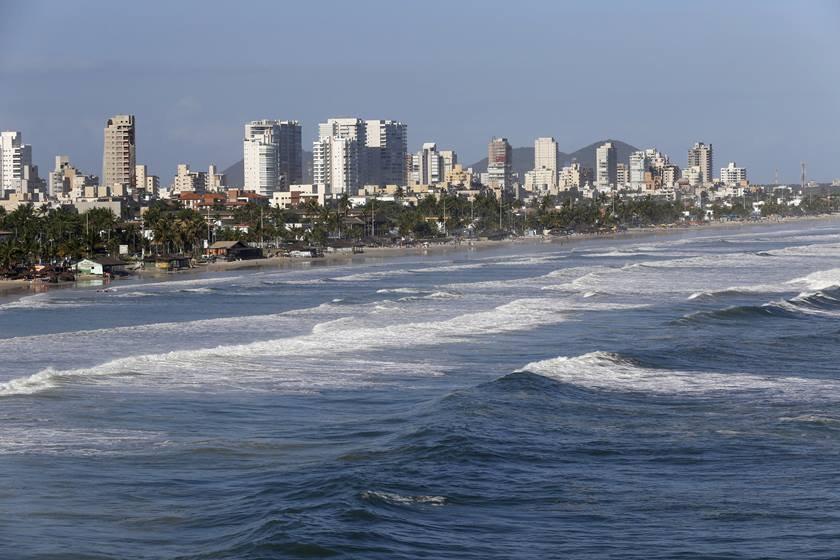 view of Guaruja, Sao Paulo, Brazil