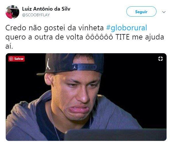 globo rural twitter7
