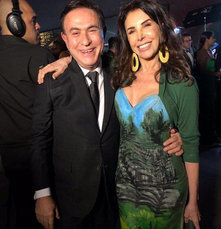 Amaury Jr. e Claudia Alencar
