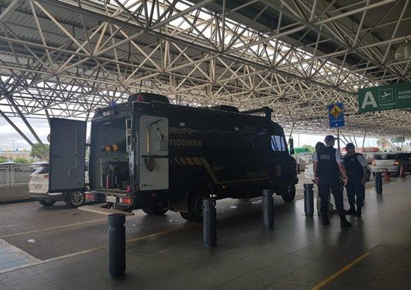 aeroporto de Brasília, ameaça de bomba