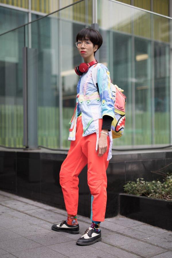 Street Style - Amazon Fashion Week TOKYO 2018 F/W