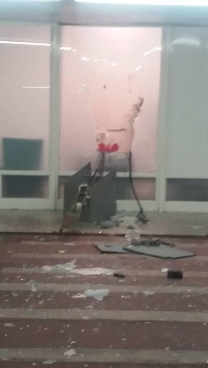 explosão de caixa no gilberto