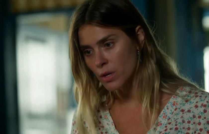 O Sétimo Guardião - Afrodite (Carolina Dieckmann) - Reprodução TV Globo