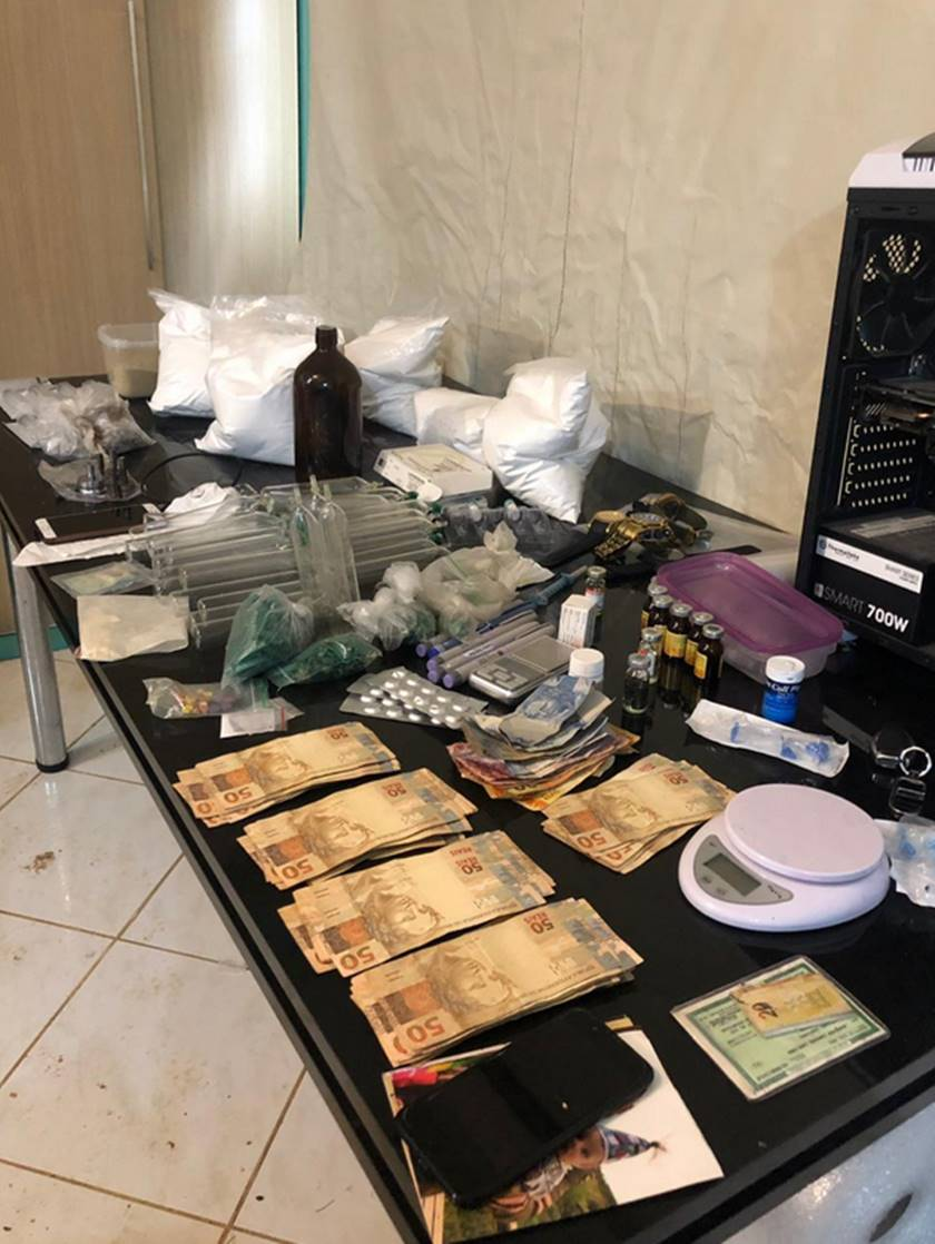 laboratório de drogas, ecstasy, em joinville