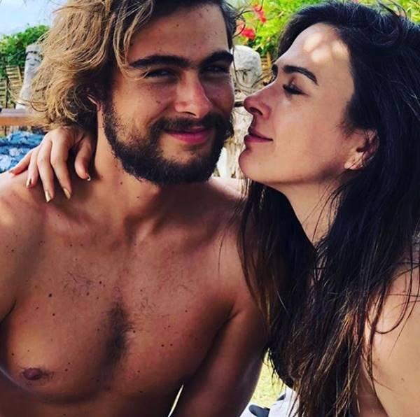 Rafael Vitti - Rafael e Tatá Werneck, sua namorada, em foto publicada no Instagram da atriz - Reprodução Instagram