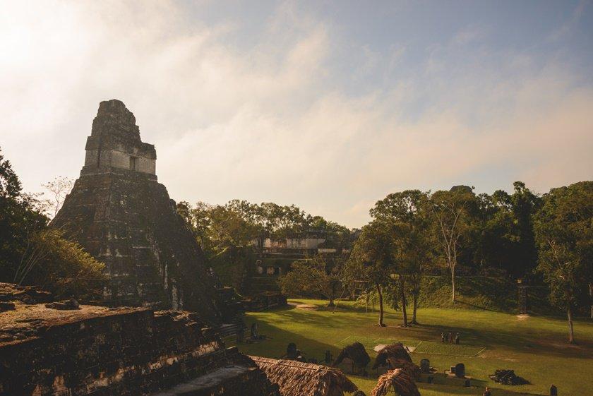 Tikal temple complex