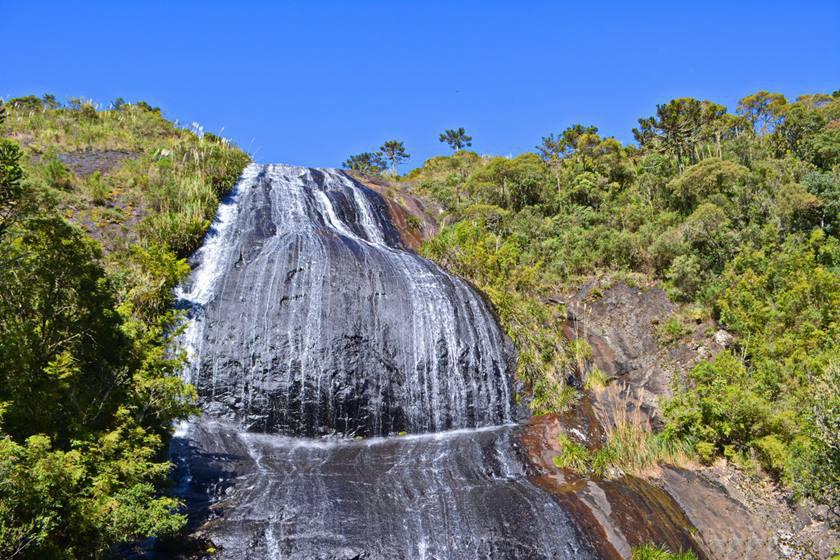 Beautiful waterfall in Urubici