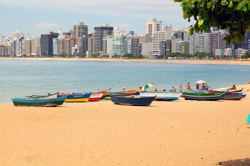 Brazil ,beach in Vitoria Espirito Santo