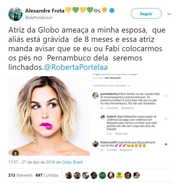 Alexandre Frota Twitter