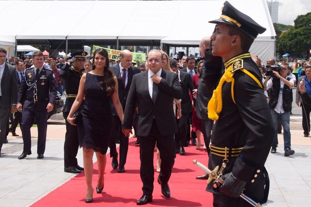 Mayara Noronha e Ibaneis Rocha