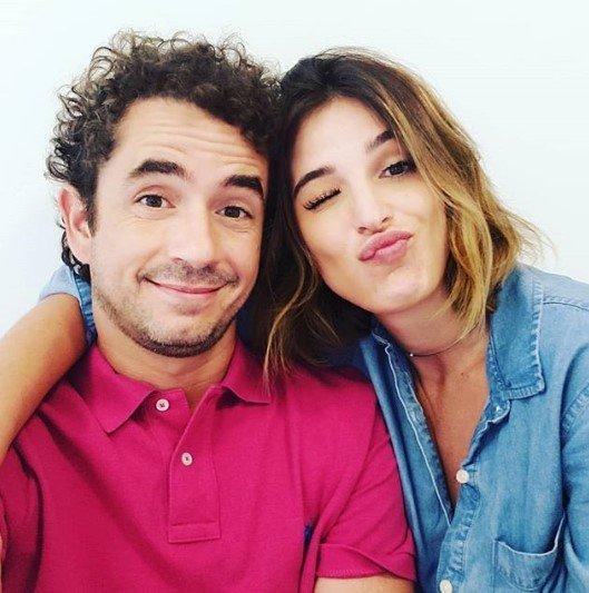 Felipe Andreoli e esposa Rafa Brite