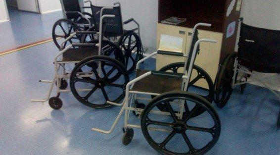 Cadeiras de roda sem apoio