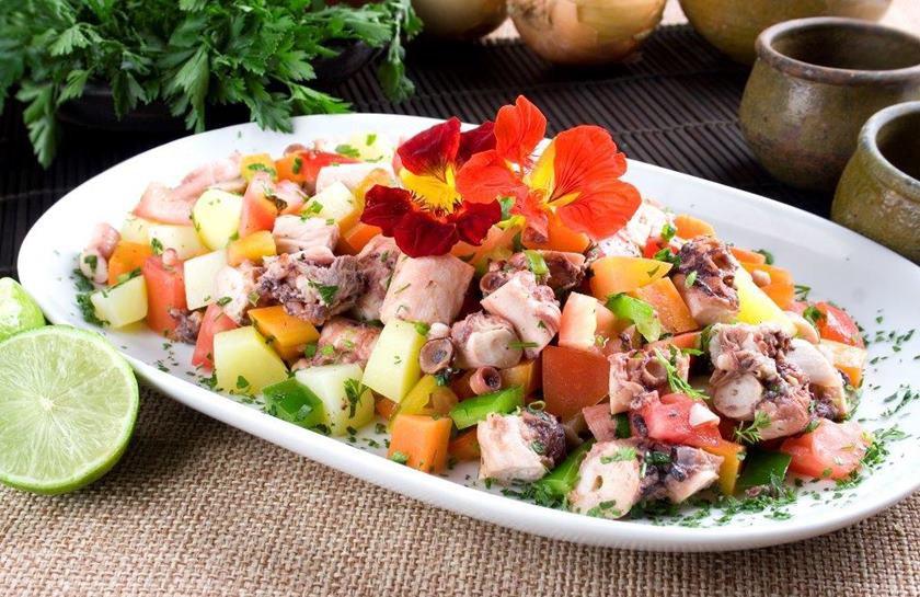 Manzuá - Salada de Polvo