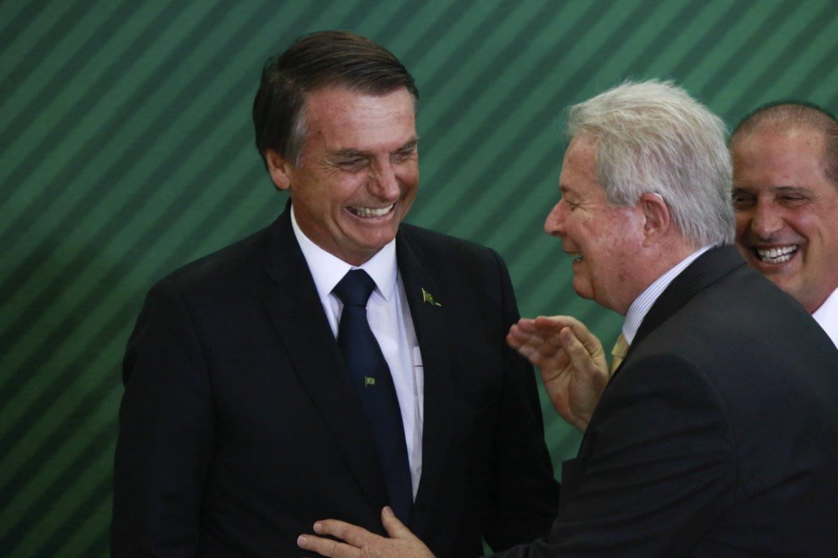 Brasília(DF), 7/1/2019 - Posse dos presidentes do Banco Central, BB e Caixa Economica. Foto: Rafaela Felicciano/Metrópoles
