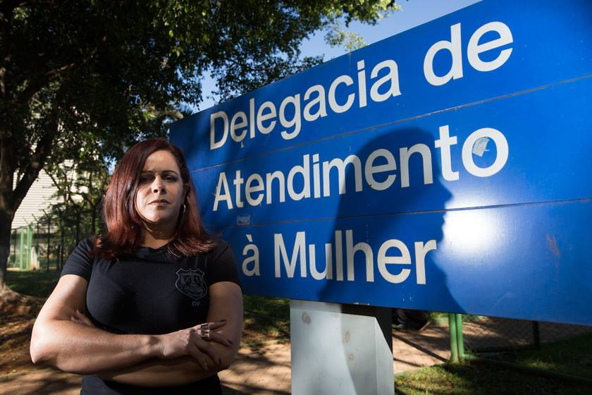 Delegada Sandra Melo - DEAM