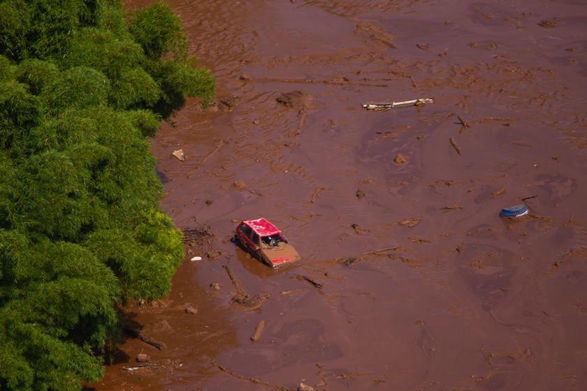 Barragem da Vale rompe na cidade de Brumadinho