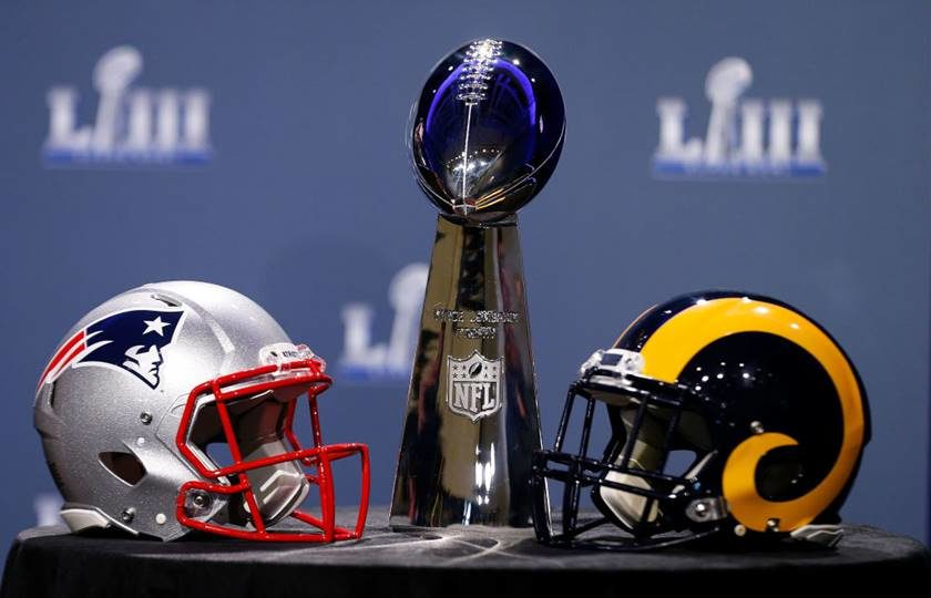 6fc0fc6aa51c4 Super Bowl 53  confira onde assistir à final da NFL em Brasília