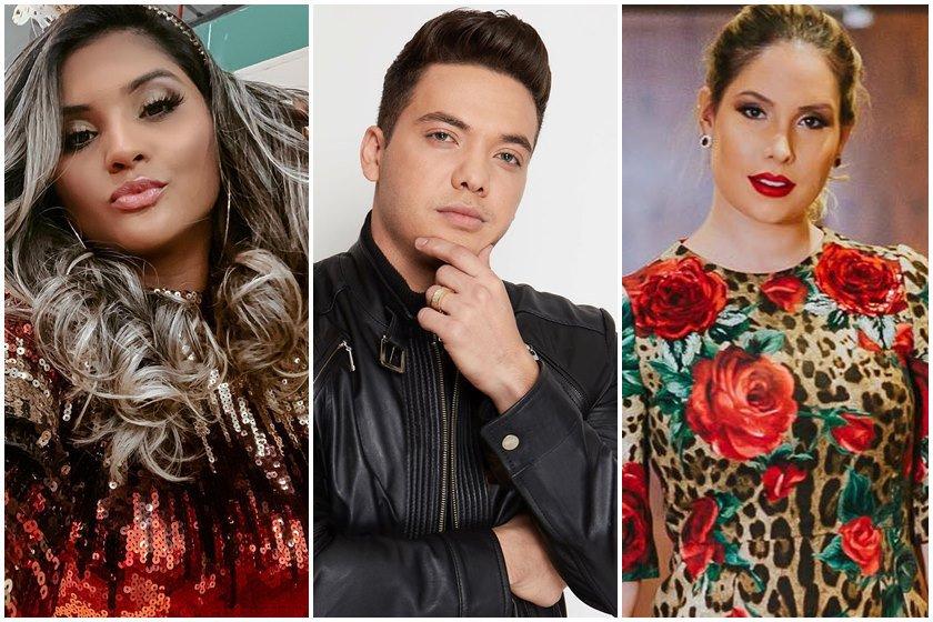 Mileide Mihaile, Wesley Safadão e Thyane Dantas