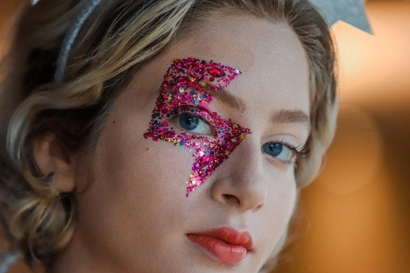 Brasilia(DF), 06/01/2019,  Maquiagem de Carnaval Local: B Hotel, Julia Bandeira / Especial para o Metrópoles
